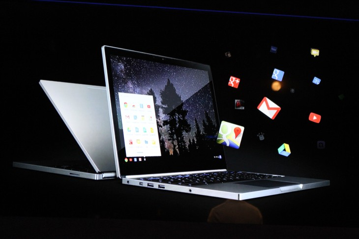 IMG 7380 730x486 Google unveils 12.85 touch screen Chromebook Pixel with a 2560x1700 display, starting today at $  1,299
