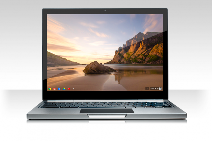 Pixel front white 730x486 Google unveils 12.85 touch screen Chromebook Pixel with a 2560x1700 display, starting today at $  1,299